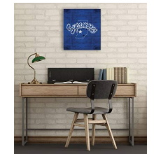 Indiana State Sycamores Pallet Pride Collage Logo Plaque