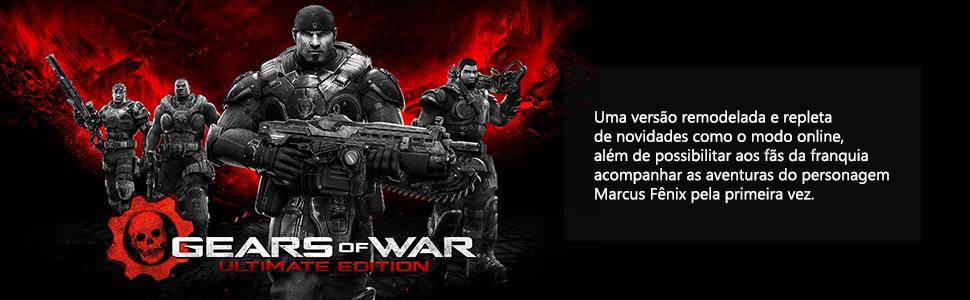 Box jogos, jogos xbox one, pack jogos, promoção jogos, videogame, consolo, xbox one, gears of war