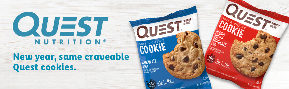 Amazon.com: Quest Nutrition Snickerdoodle Protein Cookie, High Protein, Low Carb, Gluten Free, 12Count: Health & Personal Care