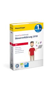 SteuerSparErklärung, Plus, Verpackung, 2019