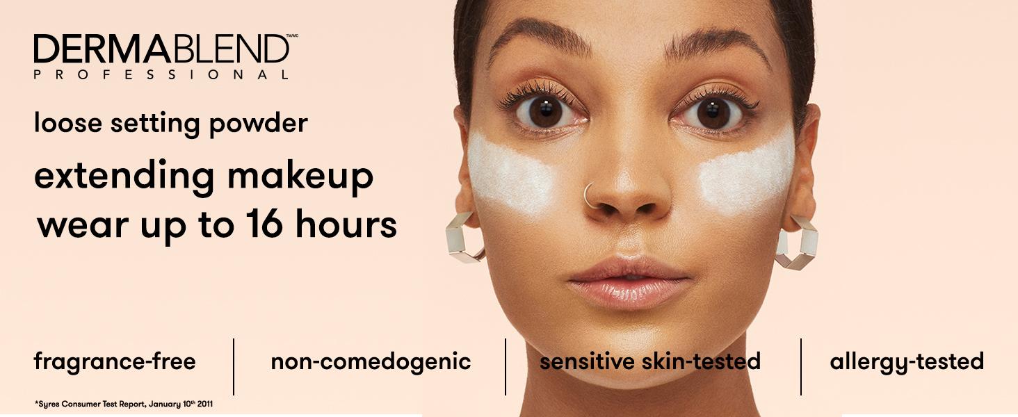 dermablend poudre fixante poudre fixante poudre de maquillage pour le visage