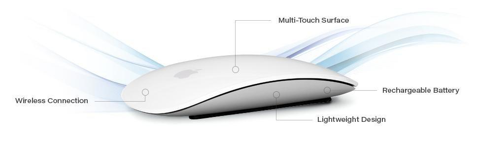 Apple Magic mouse 2, MLA02LL/a, Bluetooth; mouse; apple; mac; os X; laptop; macbook pro; imac;