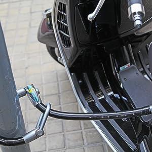 CLM Antirrobo de Manillar con Soporte Fix para Scomadi 125 Cc 2015
