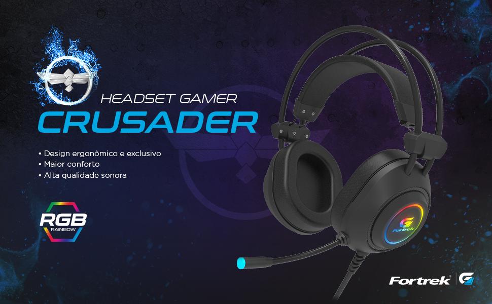 Headset Gamer Crusader