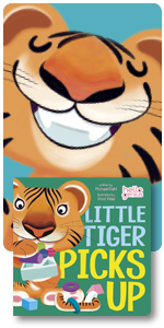 chores picking up helping calm technique singing cuddle book toddler thank you tiger milestones