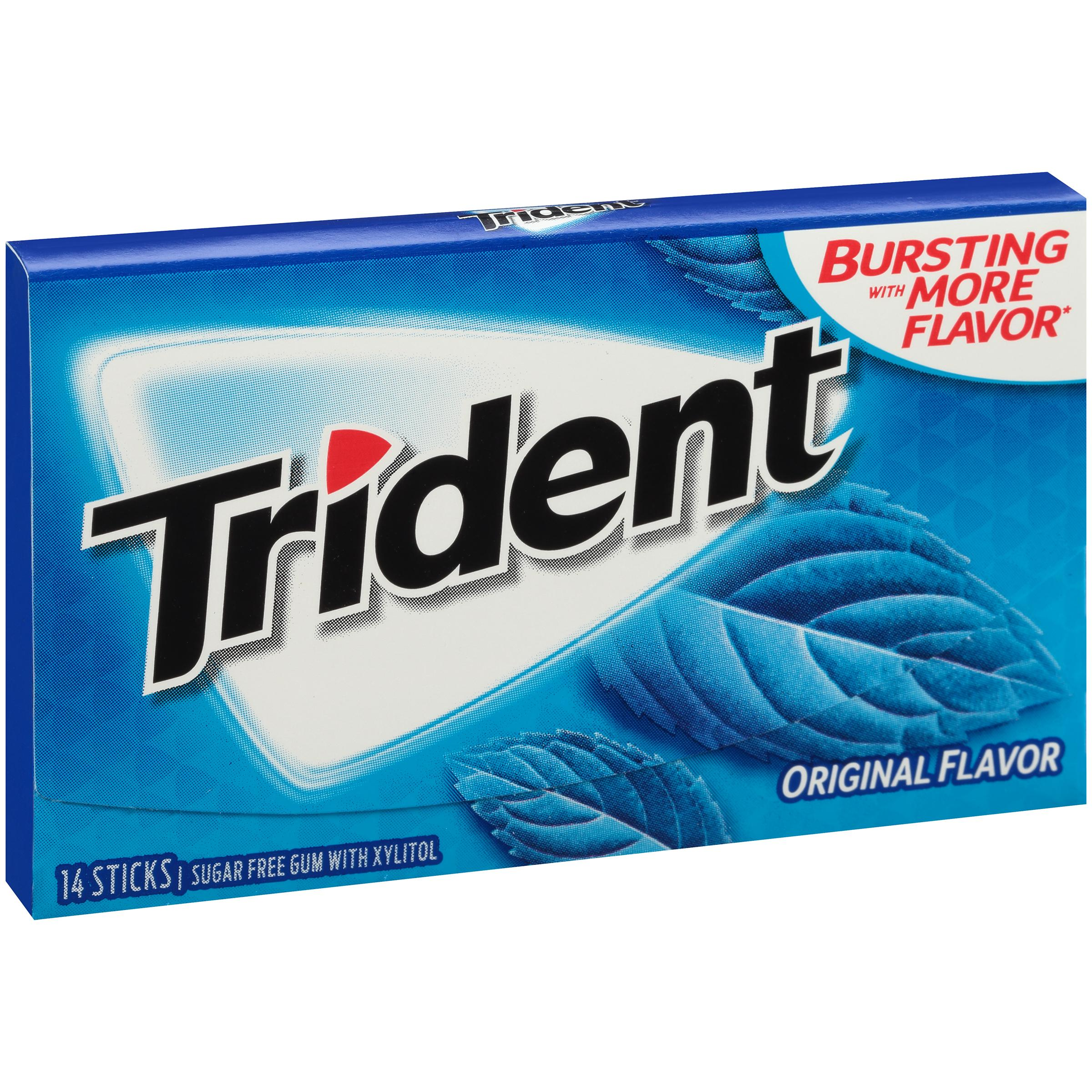 Trident sugar free gum pineapple twist 14 for H m fish count