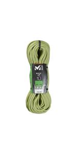 Millet Silver TRX Cuerda de Escalada, Unisex-Adult, Orange, U ...