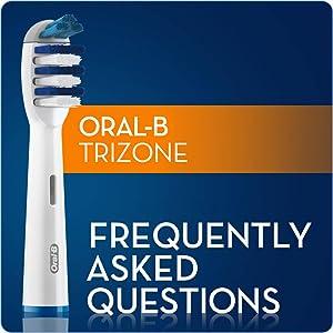Oral-B TriZone electric toothbrush refills