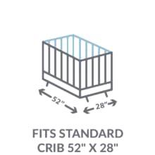 Fits Standard Size Crib