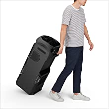 Tilt and roll for easy transport