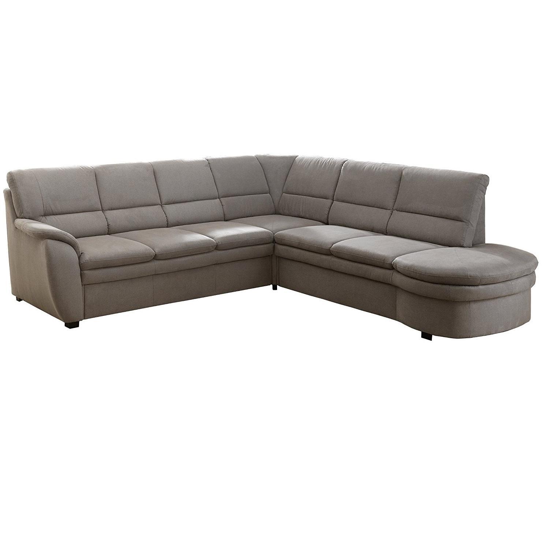 cavadore ecksofa gingle sofa mit federkern bettfunktion und hochwertigem mikrofaser bezug in. Black Bedroom Furniture Sets. Home Design Ideas