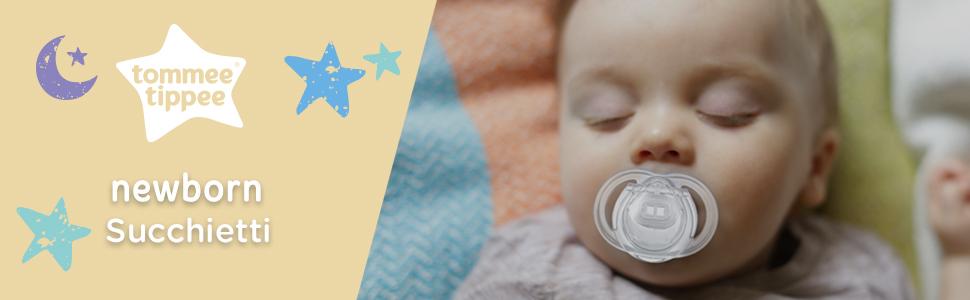 Lilla Tommee Tippee Succhietto per neonato Newborn 0-2m