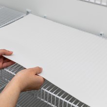 easy to place shelf liner