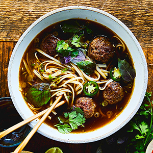 pho, impossible burger, perfect pho