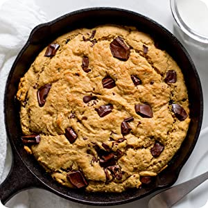 flapjacked protein pancake and baking mix cookie skillet