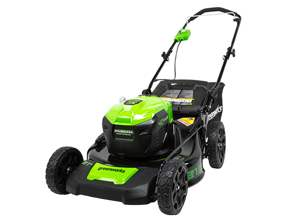 Greenworks 20-Inch 40V Twin Force Cordless Lawn Mower, 4 0