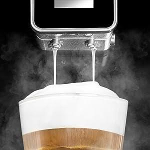 cafetera cappuccino. cafetera automatica. cafe Cecotec