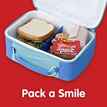 Pack a smile with Snack Pack – easy lunch box ideas and school treats