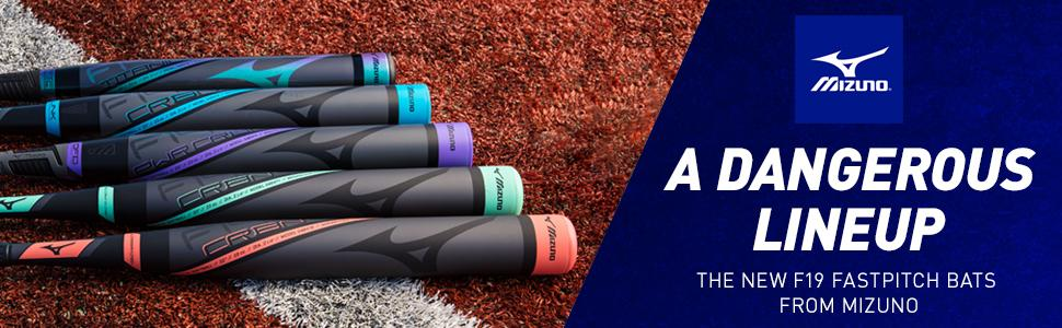 Amazon.com   Mizuno F19 Titanium Fastpitch Softball Bat (-10 ... 0c5e4cbbe