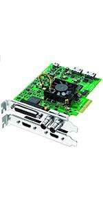 Amazon Com Blackmagic Design Decklink Duo 2 4ch Sdi Playback And Capture Card Bmd Bdlkduo2 Electronics