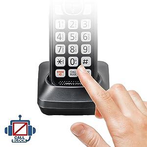 Panasonic KX-TGF544B call block
