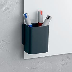 120 x 90 cm SIGEL GL210 Tableau magn/étique en verre Artverum noir