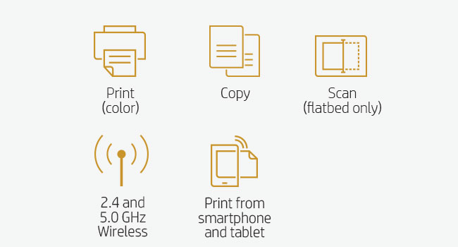 print scan flatbed copy mobile device smartphone tablet 802.11 Wi-Fi direct wireless