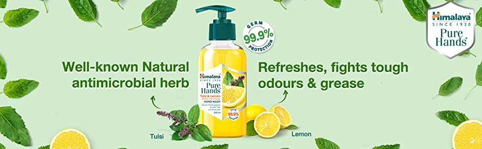 Refreshes, fights tough; odours & grease
