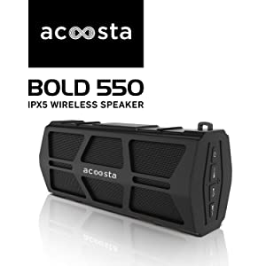 Bold 550 IPX5 waterproof bluetooth speaker