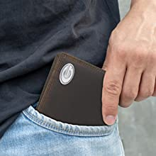 Men's Zeppro leather bi-fold wallet