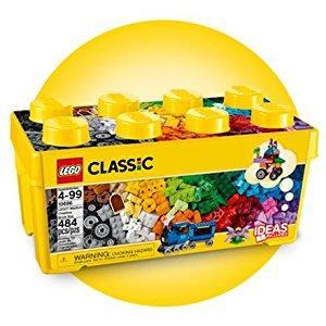 LEGO Classic - Caja de ladrillos Creativos, Set de Construcción con ladrillos de colores (10696): Amazon.es: Juguetes y juegos