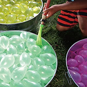 rapid fill, water balloons, fast fill balloons