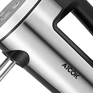 Batidora de Varilla Aicok 6 Velocidades y Turbo, Batidora de Acero ...