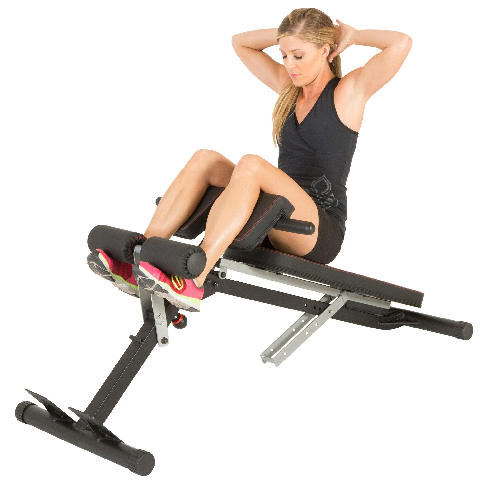 Amazon.com : Fitness Reality X-Class Light Commercial Multi-Workout Abdominal/Hyper Back ...