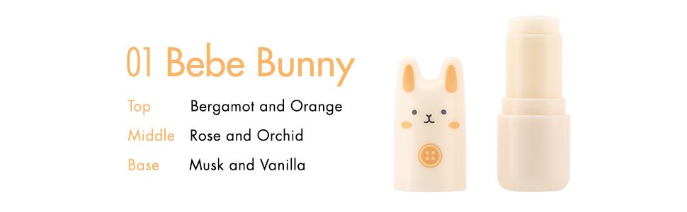 tonymoly, tony moly, k beauty, korean beauty, pocket bunny perfume bar