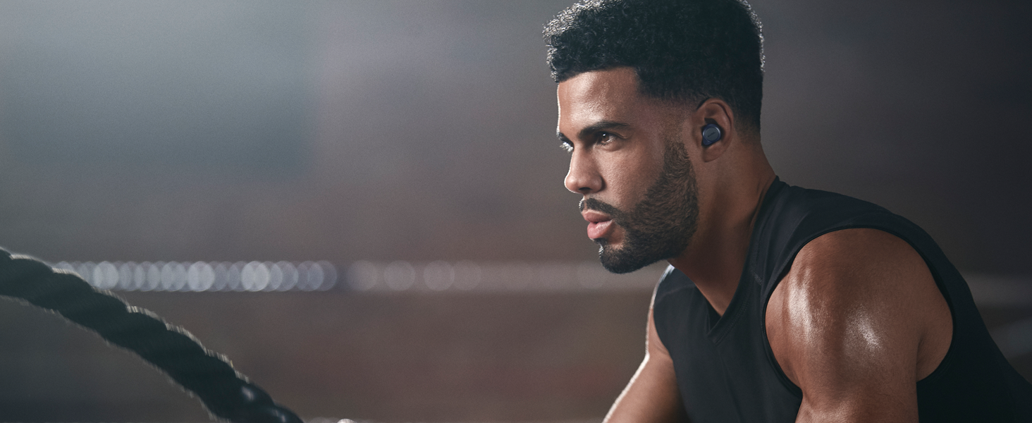 Compact true wireless earbuds,  these earbuds are the perfect companions for life on the go.