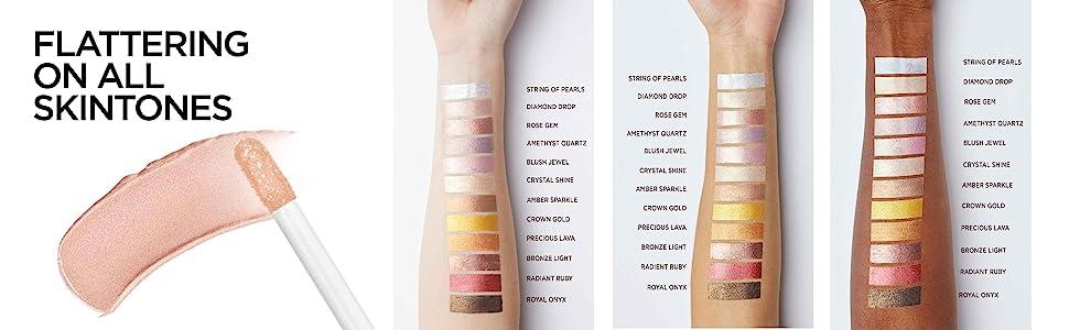 best eye shadow for light medium and dark skin tones
