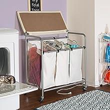 double laundry sorter