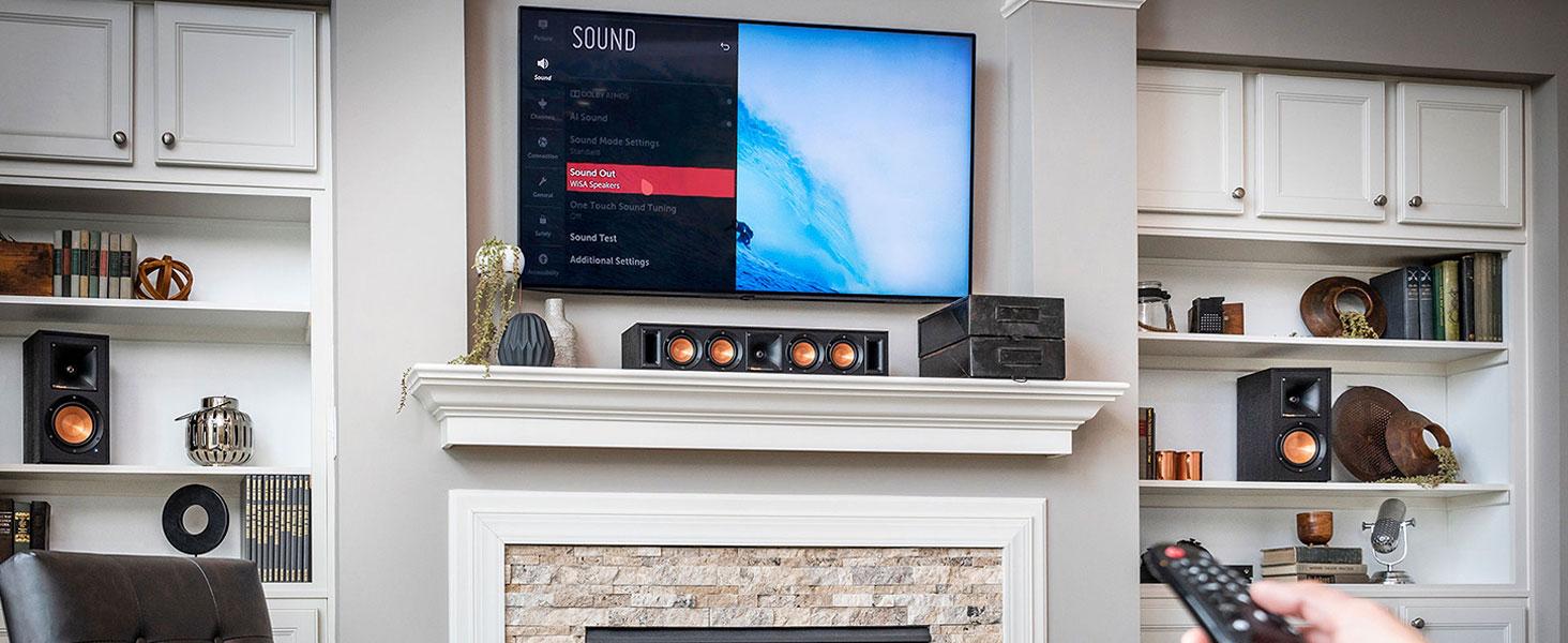 Klipsch, Reference Wireless, WiSA, home theater, wireless