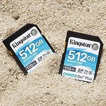 Kingston Sdg3 128gb Sd Memory Card Elektronik