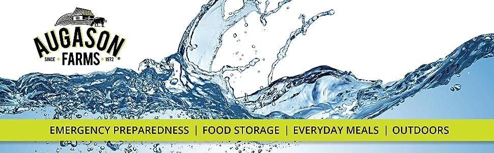 Augason Farms Emergency Preparedness Survival Gear Water Storage Filtration Purification Drum Barrel