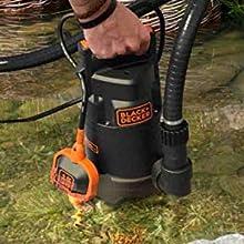 bomba de agua black decker