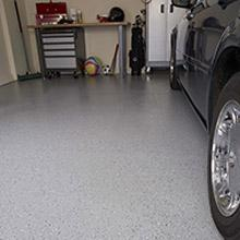 Rust Oleum 203373 Professional Floor Coating Kit Silver