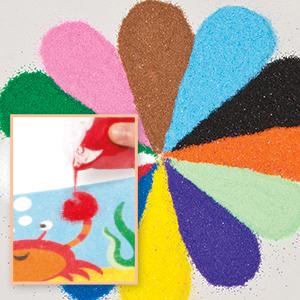 Mini Bags of Coloured Sand