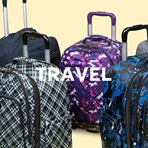 luggage, carry on luggage, overnight bags, weekender bags, wheelie bags, luggage with wheels