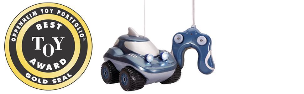 kid galaxy morphibians oppenhiem gold award best toy radio control rc remote car amphibian