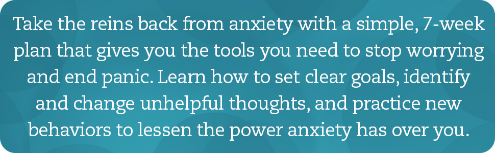 Anxiety workbook, anxiety, social anxiety, anxiety and phobia workbook, stress