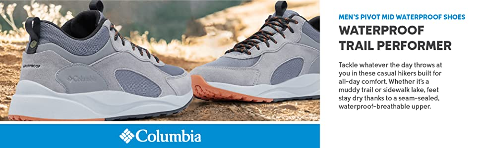 Columbia Men's Pivot Mid Waterproof Shoes