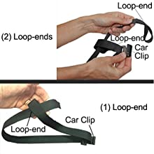 Car Clip Loop End Close Up