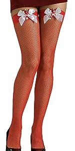 Christmas fishnet stockings